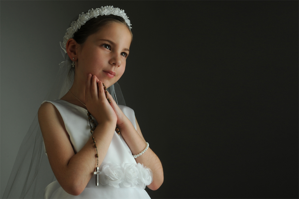 First Communion Portrait